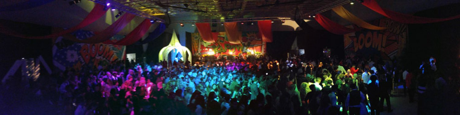Neon Party Panorama