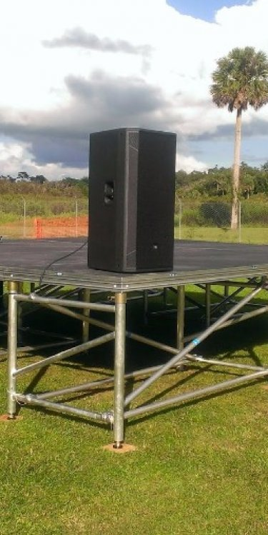 Outdoor Stage Rental